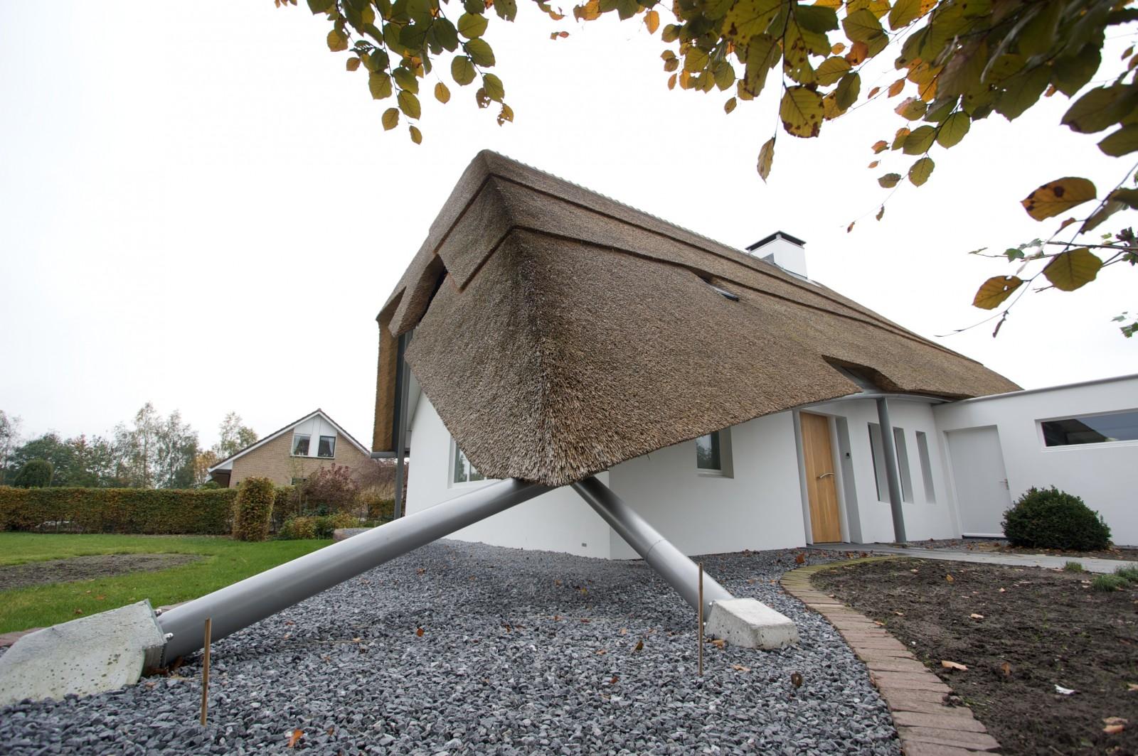 Moderne villa bouwbedrijf huurdeman